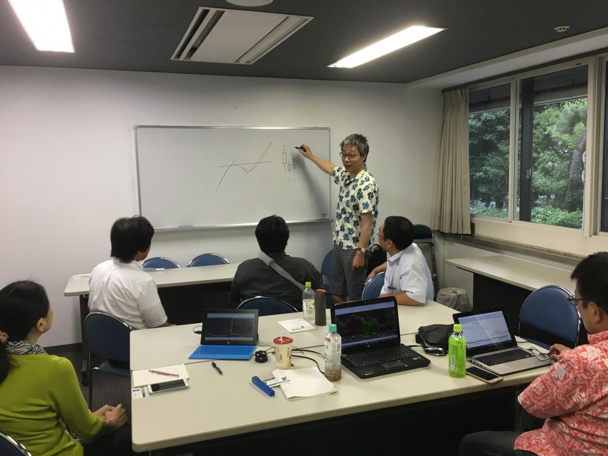 FX勉強会・セミナーin大阪 FX初心者でもわかりやすいスキャトレの勉強会