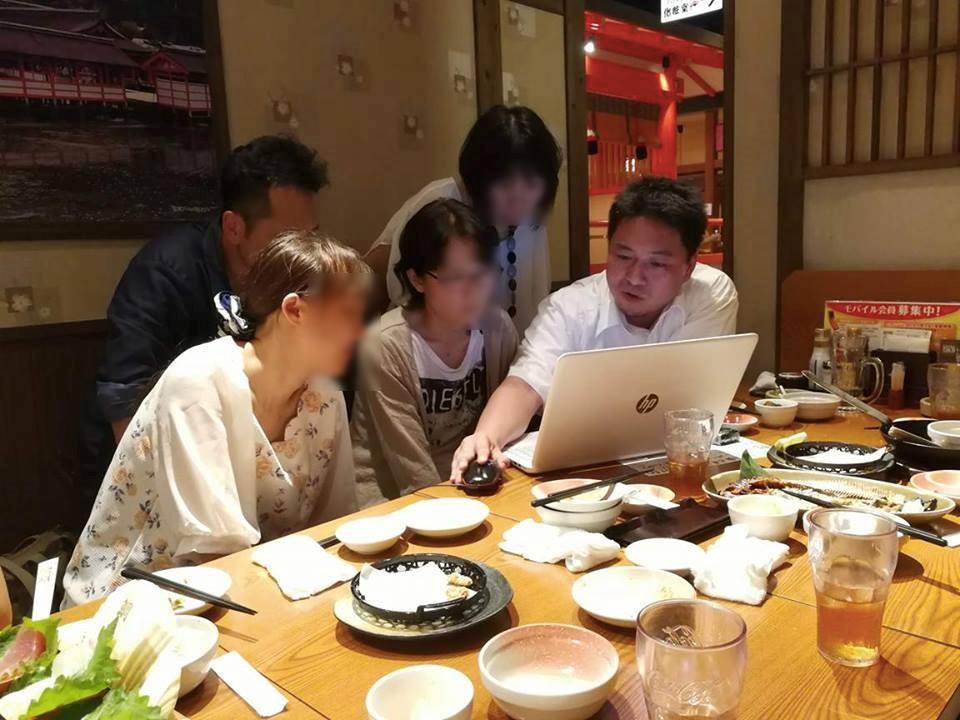 FX学校の広島で開催したセミナー