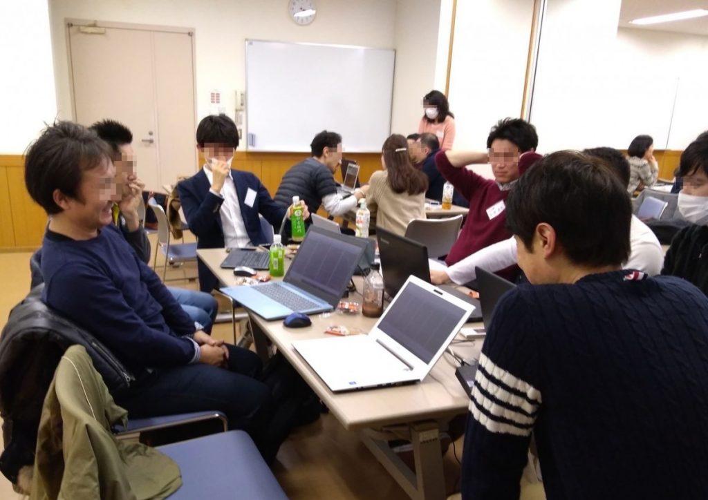 東京で開催したFX勉強会