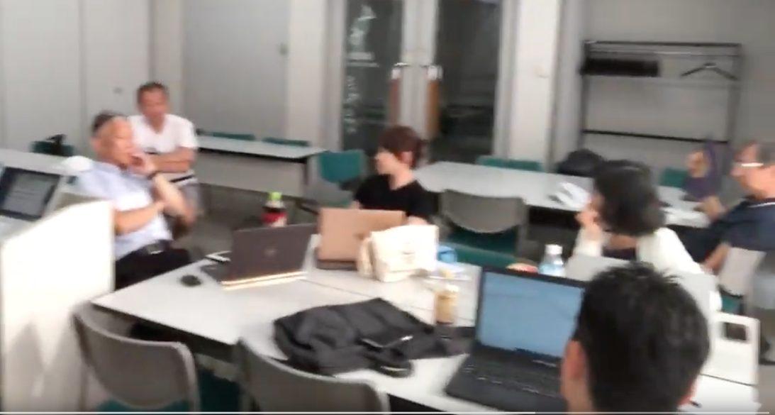 大阪のFX勉強会の様子